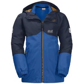 Jack Wolfskin Iceland 3in1 Jacke Jungen coastal blue